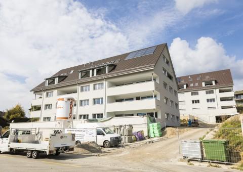 """Vermarktungsstart 2. Bauetappe Wohnüberbauung """"Summerau"""" im Zentrum von 8222 Beringen"""