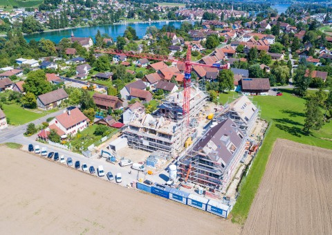Freie Besichtigung in der Wohnüberbauung Mülibach 1-4 in 8259 Wagenhausen TG