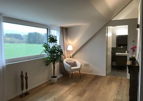 """Zwei fertig ausgebaute Musterwohnungen in der Wohnüberbauung """"am Mülibach"""" in Wagenhausen"""