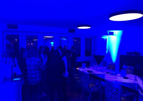 Gemütlicher Einweihungsapero am neuen Firmen Hauptsitz in Schaffhausen