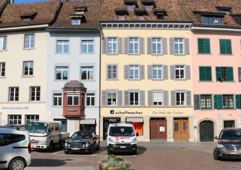 ausgebaute Mietflächen in der Altstadt Schaffhausen