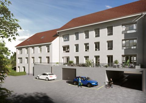 Eigentumswohnungen mit 2.5 und 3.5 Zimmern an unmittelbarer Rheinlage von Schaffhausen...
