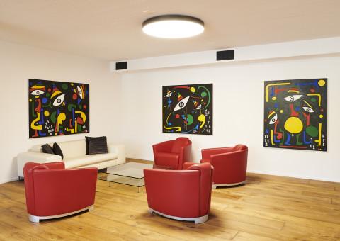 Impressionen von unseren neuen Büroräumlichkeiten an unserem Hauptsitz in 8200 Schaffhausen